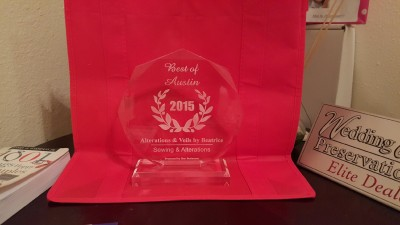 best of austin bridal dress alterations award 2015